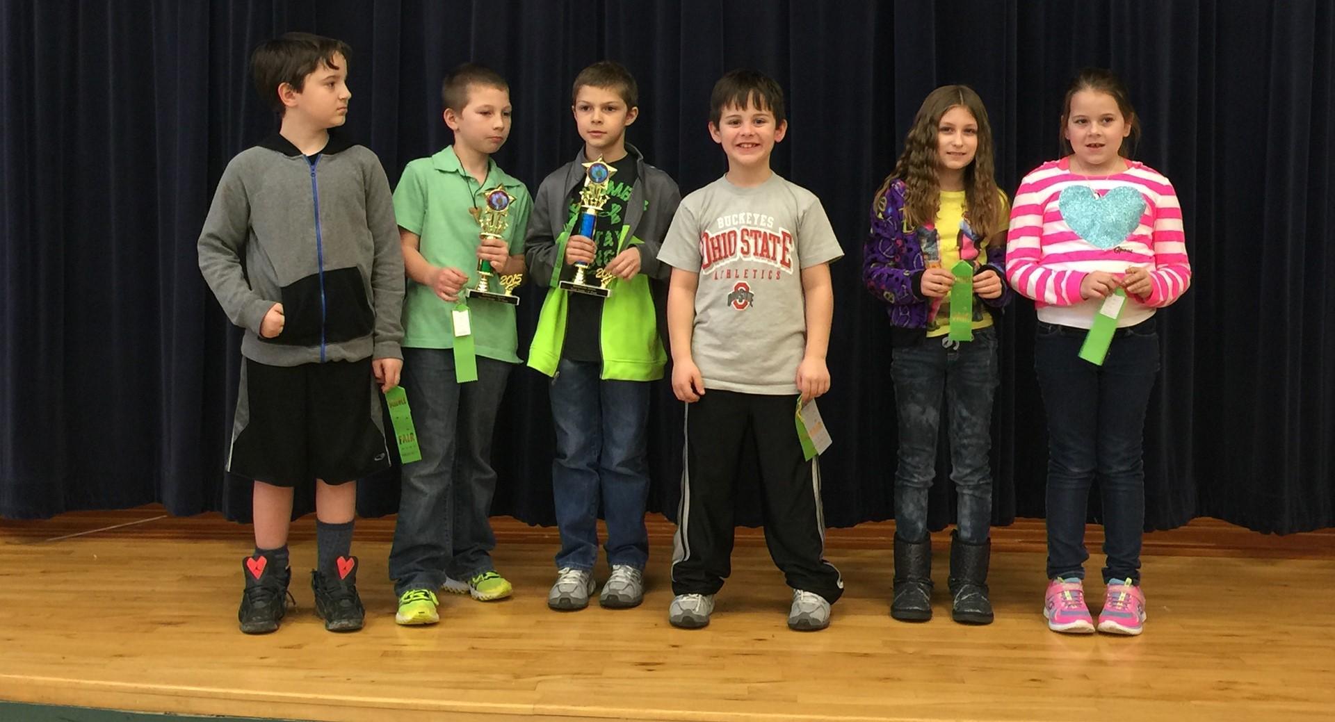 2015 3rd grade Science Fair