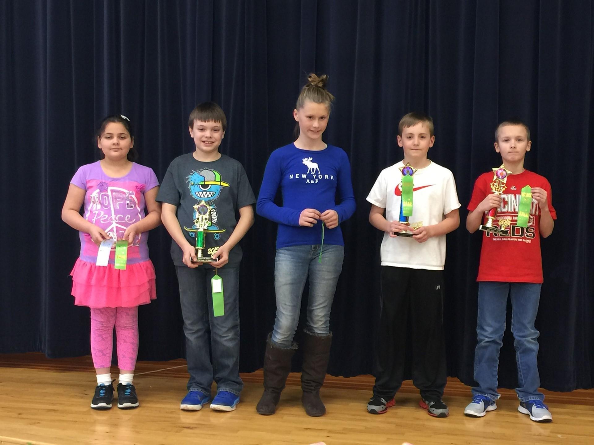 2015 5th grade Science Fair