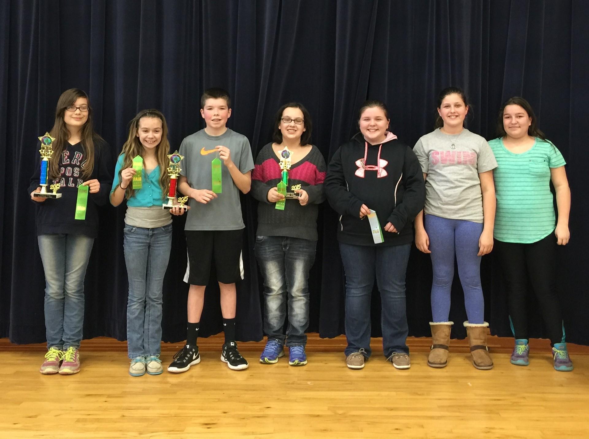 2015 7th grade Science Fair