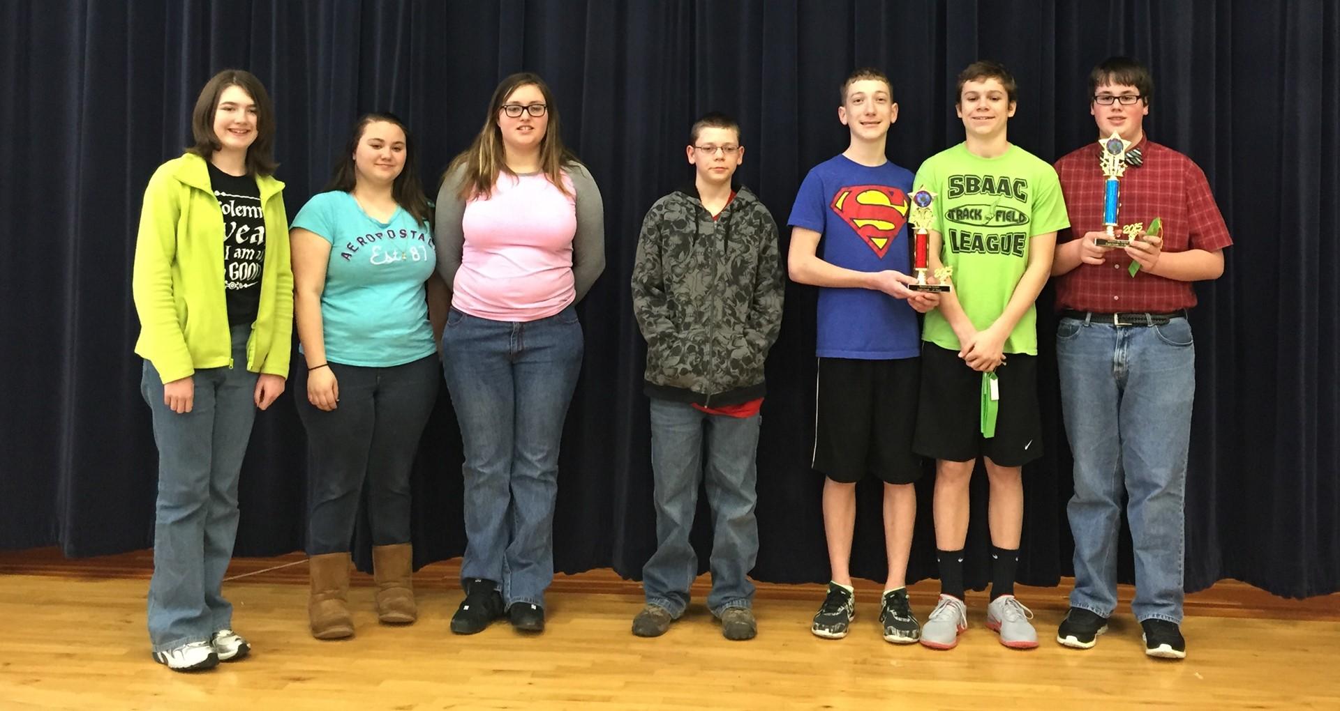 2015 8th grade Science Fair