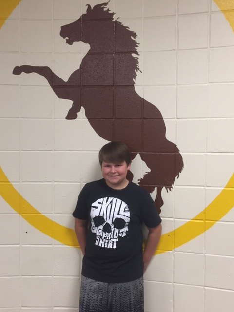 Bronco Team Student of the Week-David Collins