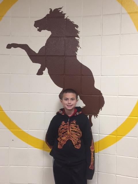 Bronco Team Student of the Week-Michael Scarlatella