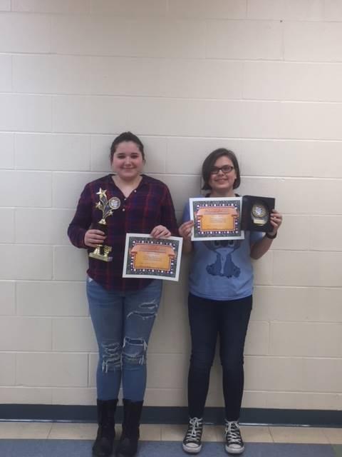 8th Grade Science Fair Award Winners