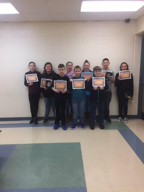 6th Grade Science Fair Participants