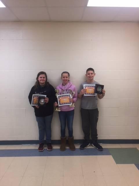 6th Grade Science Fair Award Winners