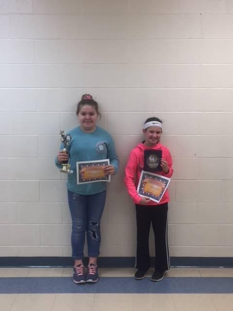 5th Grade Science Fair Award Winners