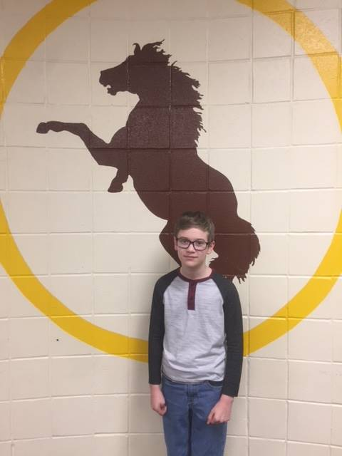 Bronco Team Student of the Week-Seth Strong