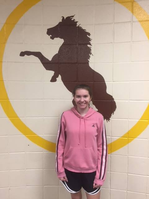 Bronco Team Student of the Week-Kenzie Harbottle