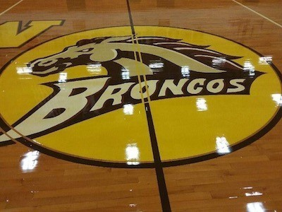 Bronco on Floor
