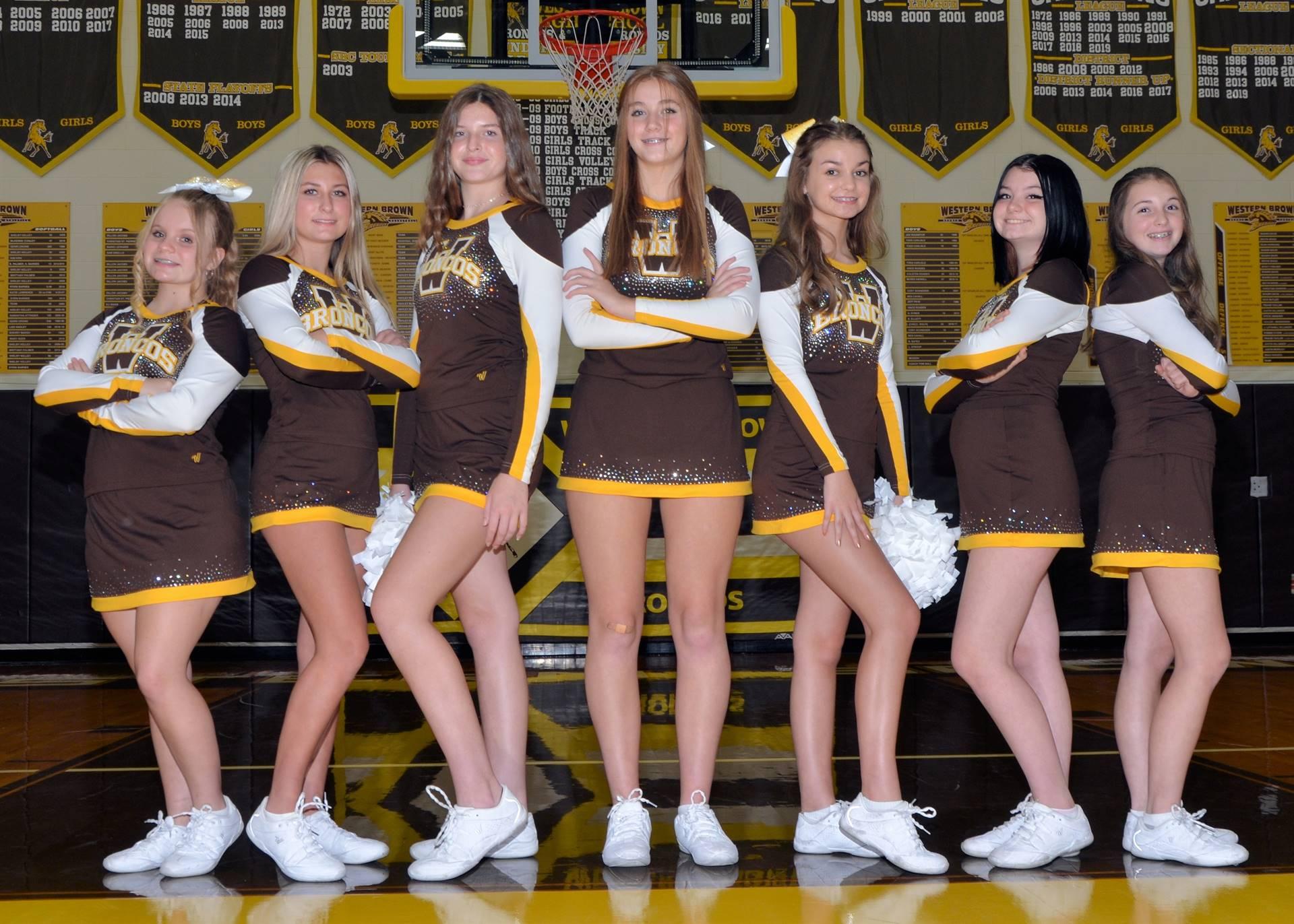 Freshmen Cheerleaders