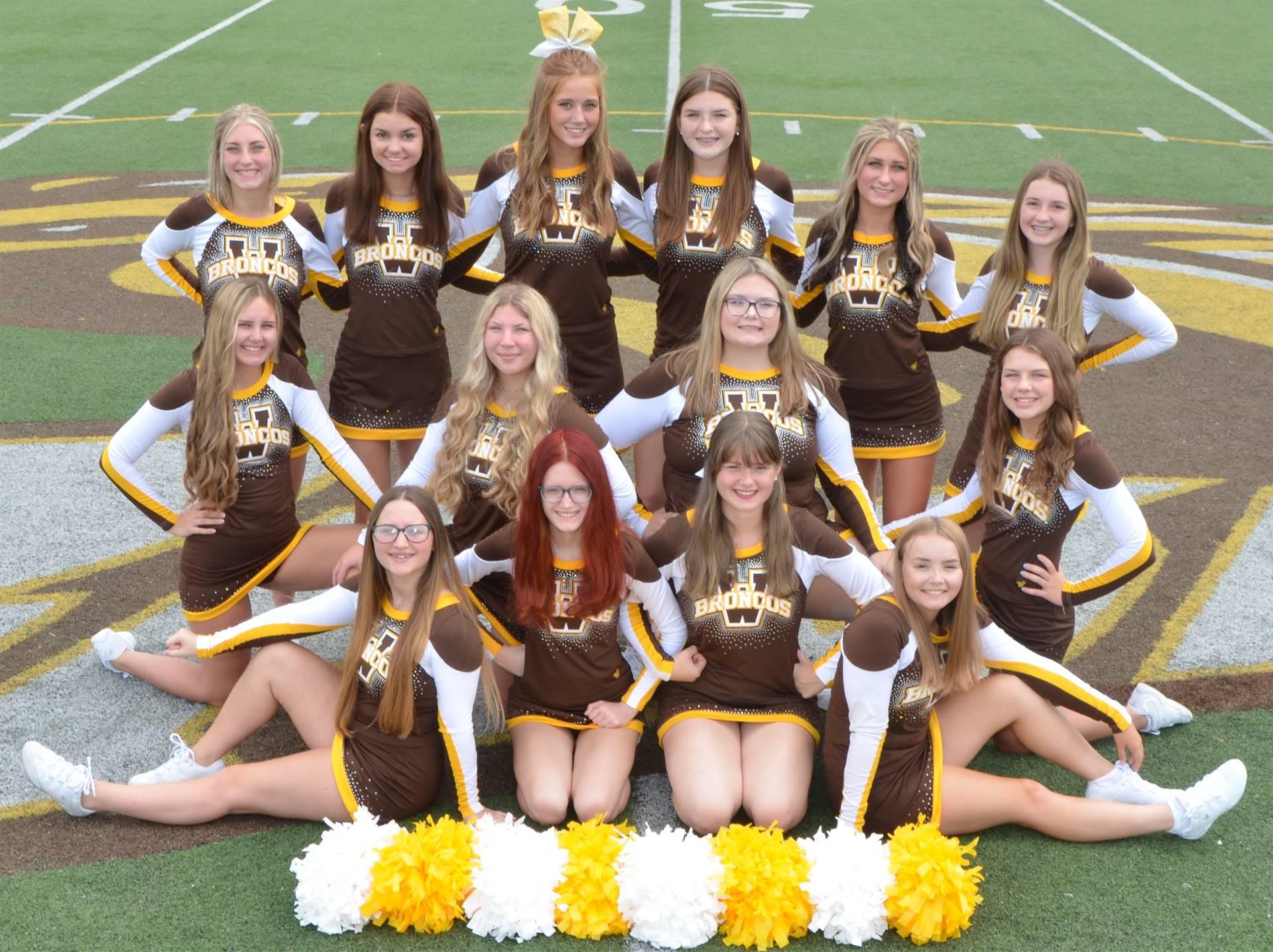 2021 Fall Cheerleaders