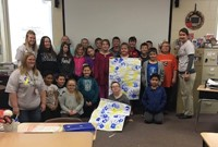 4th graders celebrate Down Syndrome Day