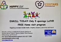 HIPPY Program for 3-5 year olds